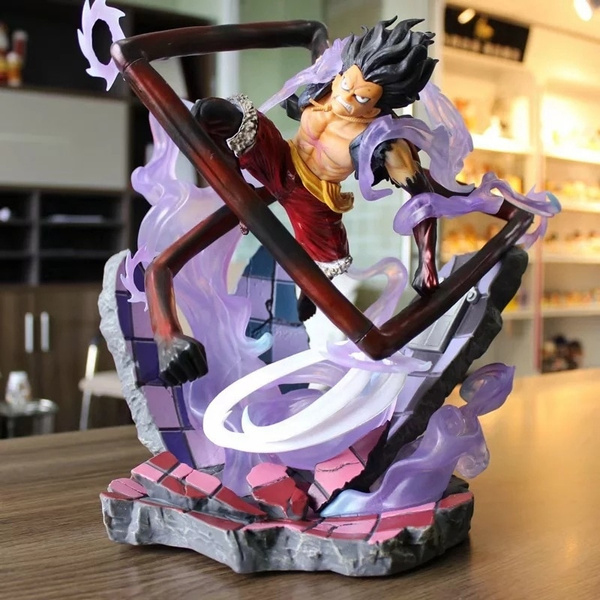 One Piece Monkey D Luffy Gear 4 Snakeman Action Figure Toys Luffy Collection Model Decoration