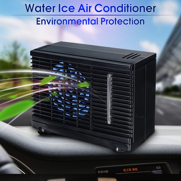 Mini Air Conditioner 12V Portable Home Car Cooler Cooling Fan Water Ice GA