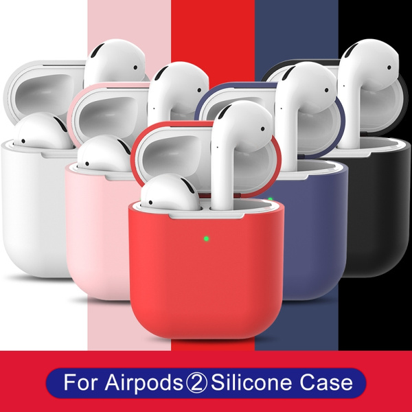Earphone Case For Apple Airpods 2 Wireless Charging Box Airpods