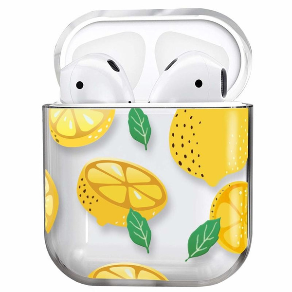 Airpods Case Full Protective Shockproof Clear Smooth Tpu Cute