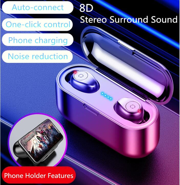 Super Small Mini Invisible Wireless Bluetooth Earphone 8D Stereo Surround  Sound Quality CVC8 0 and DSP Dual Noise Reduction Automatic Connection  Phone