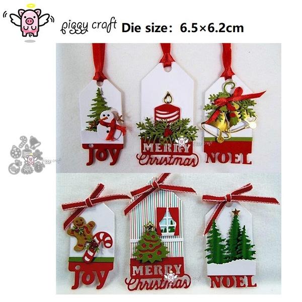 Dies...to die for metal cutting craft die Decorate the Christmas Tree