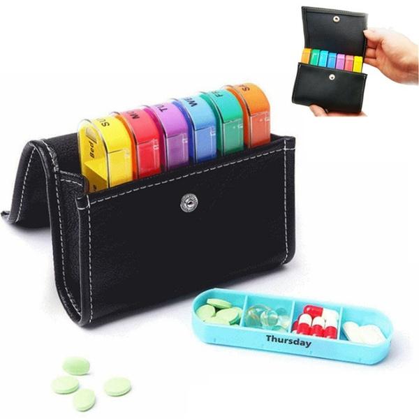 Box, pillboxe, medicinepill, Colorful