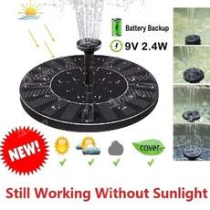 solarfloatingpondfountain, Garden, fountainwaterpump, water
