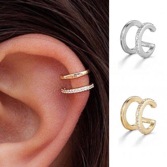 Hoop Earring, Jewelry, daintyearcuff, simpleearcuff