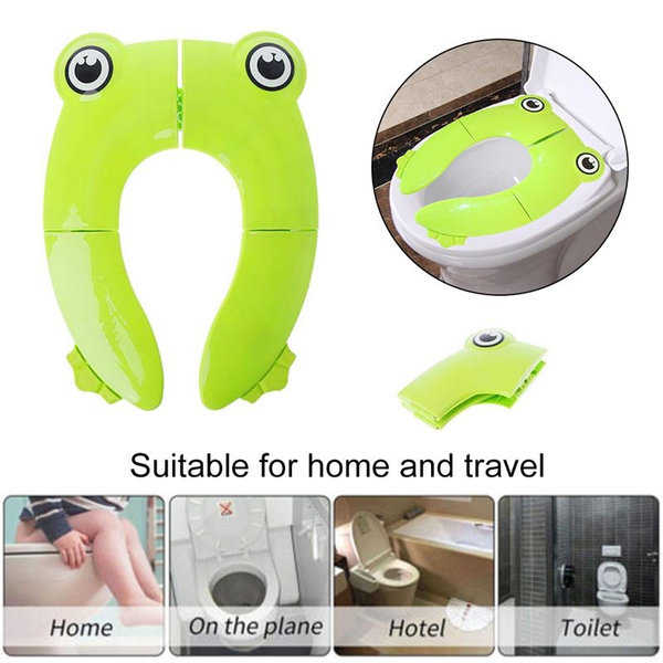 Surprising World33 Upgrade Folding Large Non Slip Silicone Pads Travel Portable Reusable Toilet Potty Training Seat Covers Liners With Carry Bag For Babies Dailytribune Chair Design For Home Dailytribuneorg