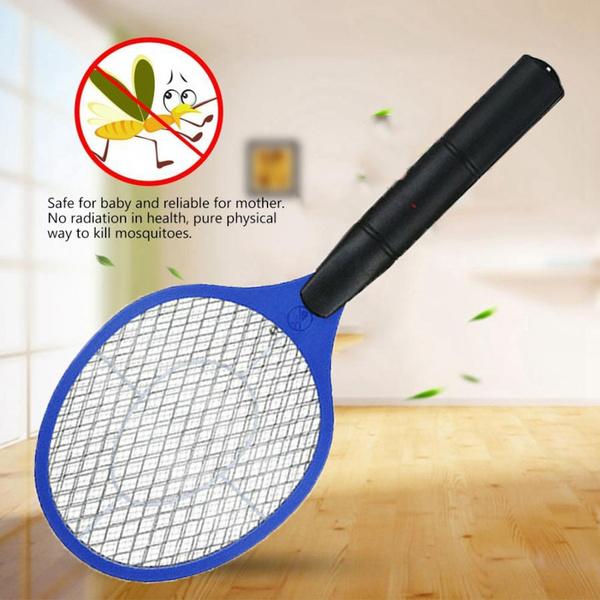 Pest Repeller Summer Bug Zapper Racket Fly Swatter Electronic Mosquito Killer