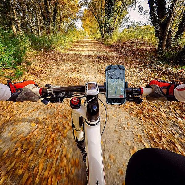 8 7 Plus Bike Handlebars 7 Universal Premium Bike Phone Mount for Motorcycle Fits iPhone X Black S7 S8 Galaxy Adjustable iPhone 6s XR 8 Plus 6s Plus S9