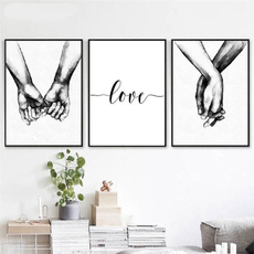Love, Arte para la pared, Decoración de hogar, canvaspainting