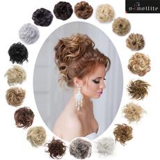 ponytailextension, scrunchie, pony, Extensiones de pelo