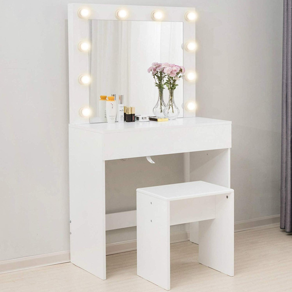 zety 10 LED Lights Mirror Vanity Set