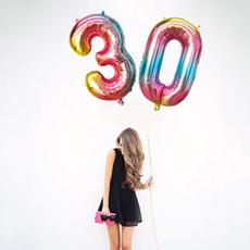 baloon, heliumfoilballoon, birthdaypartynumberballoon, Gifts