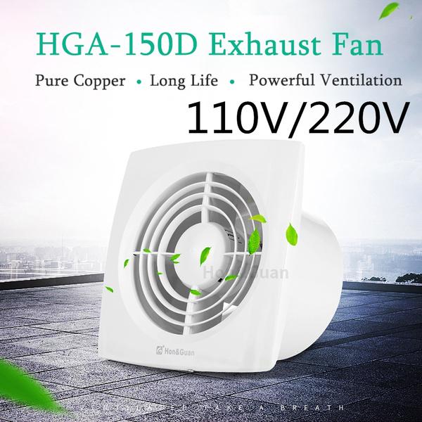 Hon Amp Guan 22w 6 Inch 110v 220v Home Ventilation Super