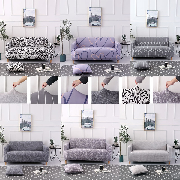 Wish | SOFA COVER Stretch sofa cover Universal sofa cover Modern minimalist All-inclusive Non-slip dust cover Full cover Sofa cushion 1/2/3/4seats