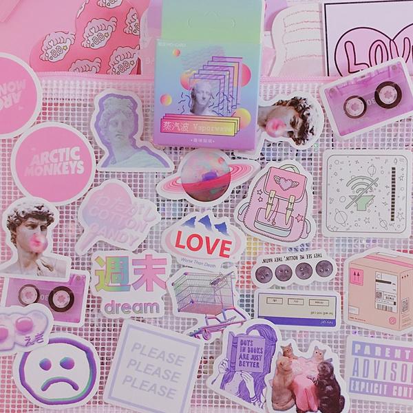 Kawaii, cute, School, Stickers
