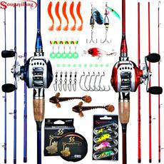Fiber, Bass, fishingrod, baitcasting