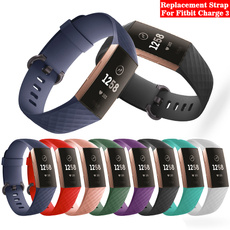fitbitcharge3adjustableband, fitbitcharge3strap, Jewelry, Silicone