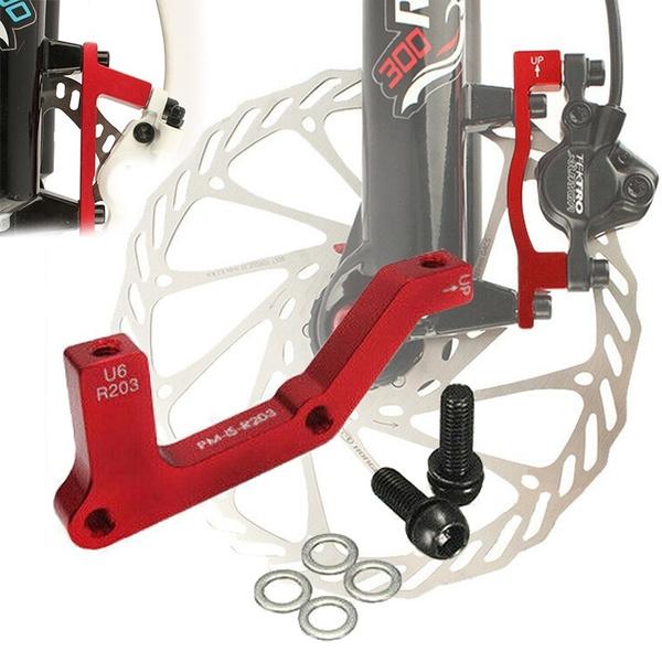 MTB Bike Disc Brake Caliper Adapter Post Mount PM 203mm Rotor Front Rear Caliper
