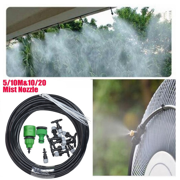 Garden Patio Misting Cooling System