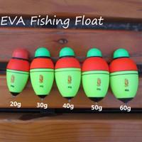 1Pcs Lure Buoyancy Catfish Portable Fishing Float Eva Foam Bobber Ball  X