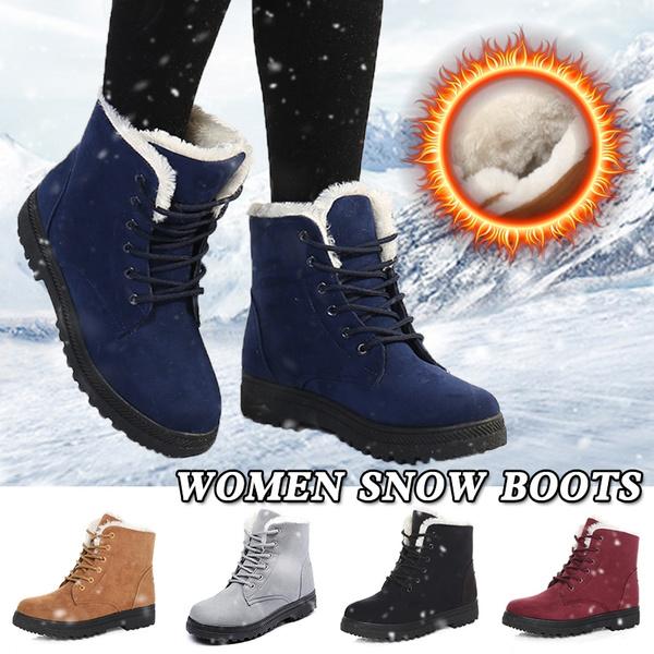 Women Winter Snow Boots High-top Boots