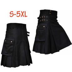 Scottish, Dark Knight, menskilt, leather