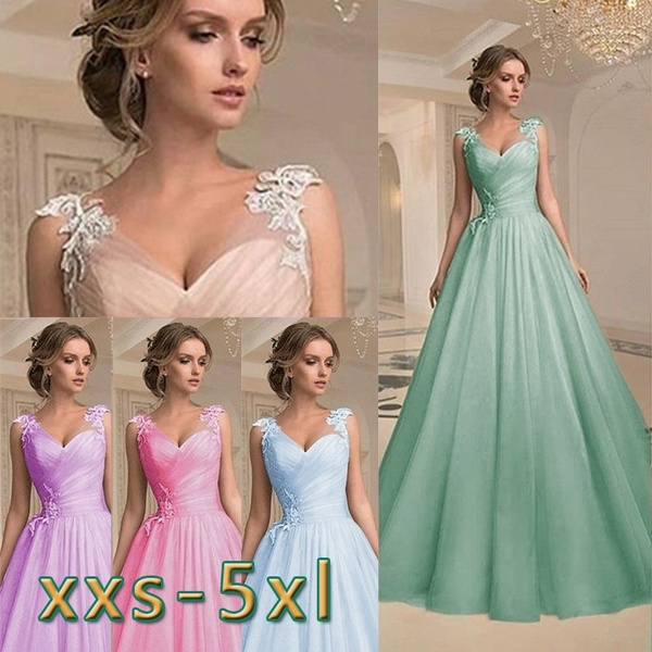Women Elegant Sleeveless V-neck Dress