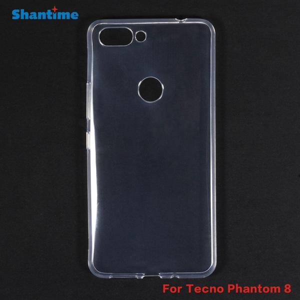 For Tecno Phantom 8 Gel Pudding Silicone Phone Protective Back Shell For  Tecno Phantom 8 Compact Soft TPU Case