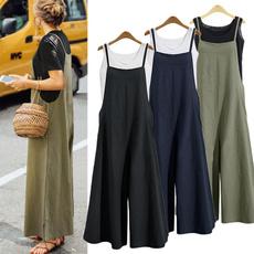 Women Pants, Summer, broadleggedtrouser, trousers