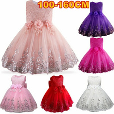 cute, Flowers, Lace, gowns