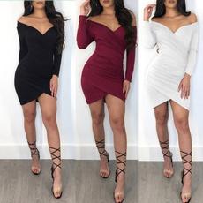 long sleeve dress, Evening Dress, Dress, vestido