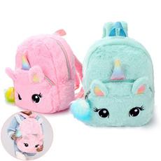 cute, School, children backpacks, unicorn