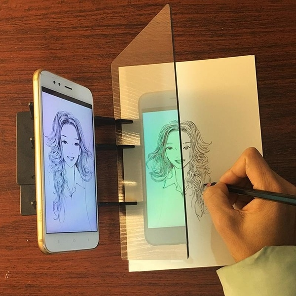 Easy To Paint Sketch Assistant Painting Stand Optical Drawing Projector Painting Tracing Board Sketch Drawing Board Drawing Tools  by Wish