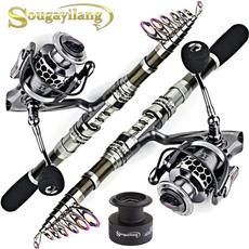 fishingpolecarbon, Fiber, fishingrod, Travel