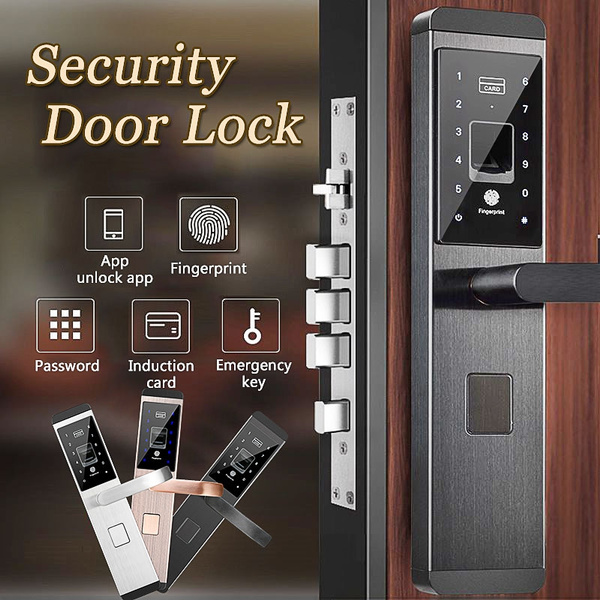 smartlock, Door, doorlock, fingerprintlock