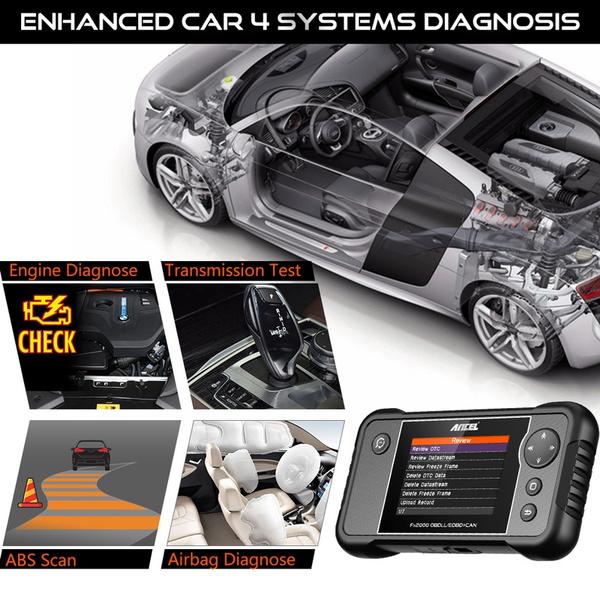 ANCEL FX2000 Car Code Reader Engine Transmission ABS SRS Airbag Diagnostic Tool