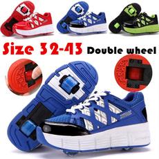 Wheels, pulley, Sneakers, rollerskate