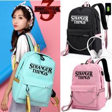 teen, School, usb, Backpacks