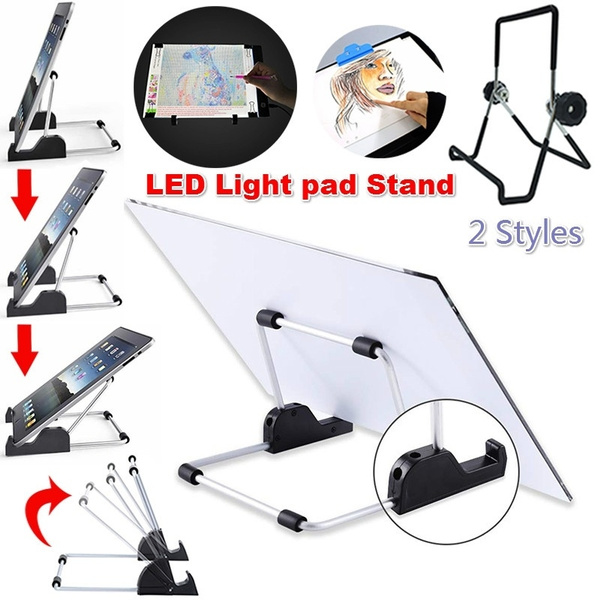Foldable Light Board Stand Diamond Painting A4 LED Light Pad Board Drawing  Tablet Detachable Stand Holder