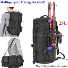 fishingrodbag, Shoulder Bags, Outdoor, canvasfishingbag