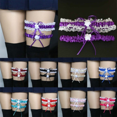 suspenderbeltlace, Fashion, lacefloral, Wedding Accessories