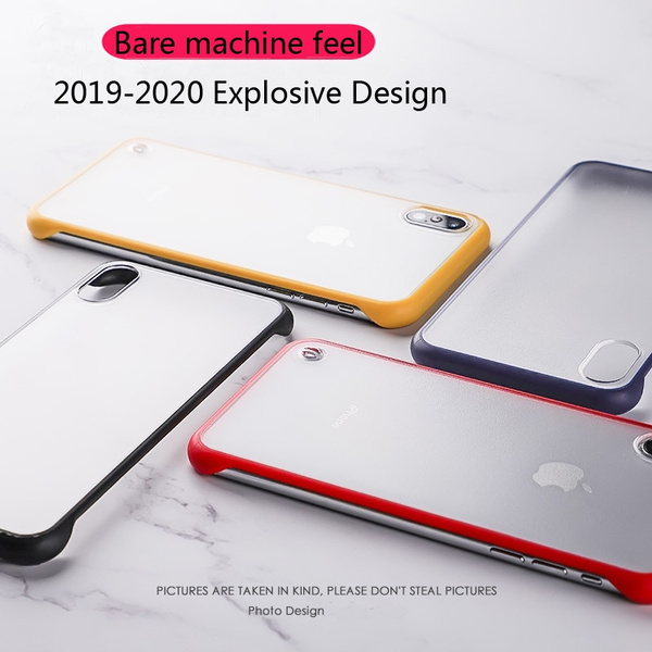 Accessori X Phon.2019 2020 Explosion Models Without Border Pc Mobile Phone Case Color Dustproof Anti Fall Original Protective Cover For Iphone 11 X Xs Xr Xsmax 7 8 7