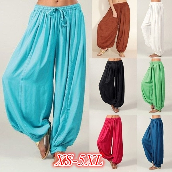 Women Pants, harem, Plus Size, Yoga