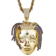 18k gold, Jewelry, gold, xxxtentacion