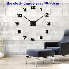 walldécorclock, Decor, quartz, horlogemurale