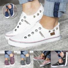 casual shoes, Summer, Plus Size, Flats shoes