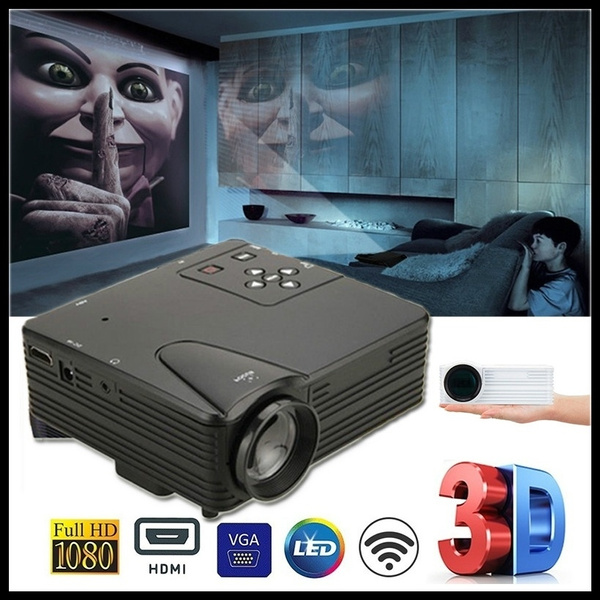 High Quality HD Multimedia 1080p WiFi Android LED Home Cinema Projector  Home Theater HDMI School Educational Equipment Gadgets