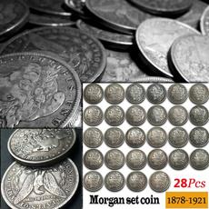 Antique, coinscollection, morgancoin, coinscollectionset