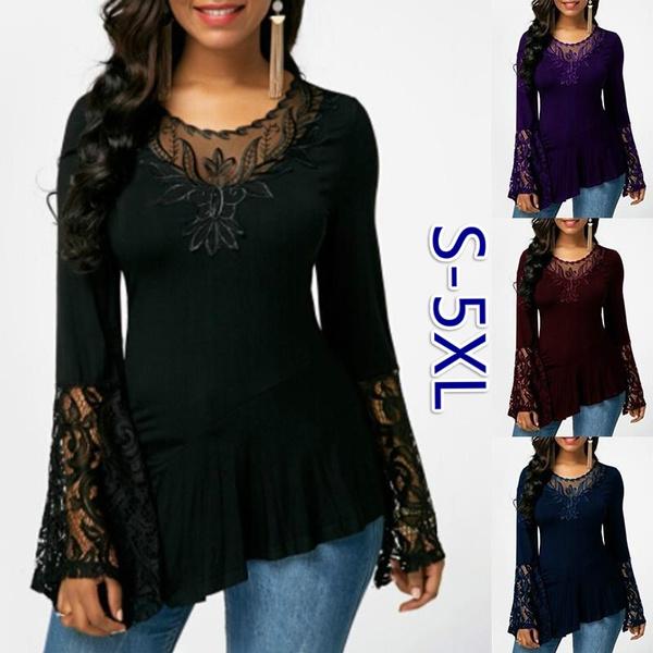 Women, fashion women, Plus Size, Shirt