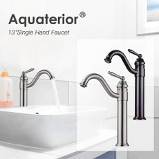 Faucets, curvedfaucet, Mount, Bathroom